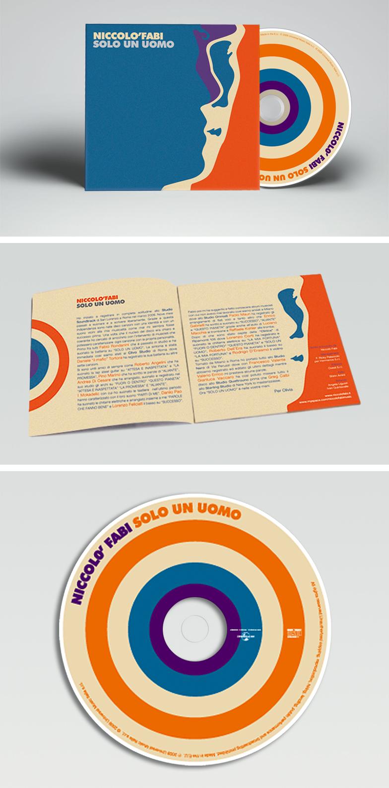 Artwork CD - SOLO UN UOMO - Niccolò Fabi